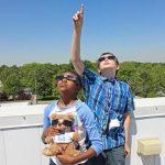 Solar Eclipse glasses on sale and Merrillville Planetarium. Photo by Gregg Williams.